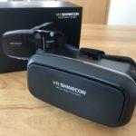 手頃に本格派VRゴーグル【VR SHINECON】を買ってみた!