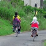 毎朝、ものすごい表情で自転車を盛りこぎする主婦!