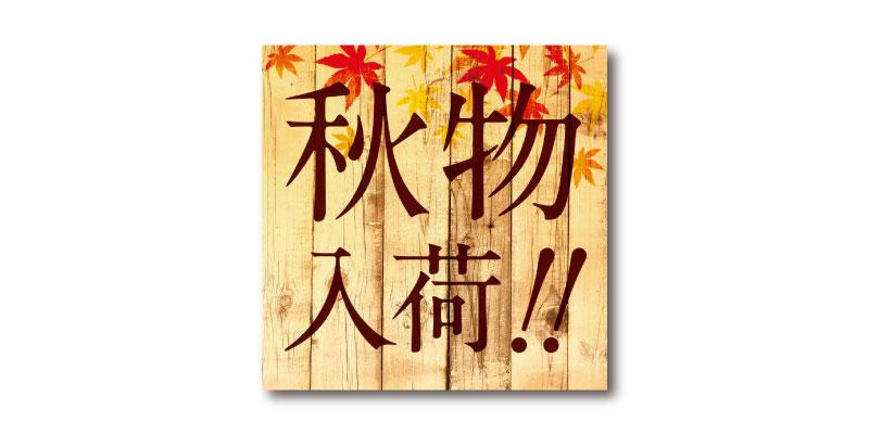 「秋物入荷」LINE用のリッチ画像 無料ダウンロード #00166